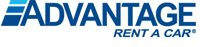 Advantage Rent A Car logo.