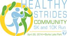 healthy strides run.