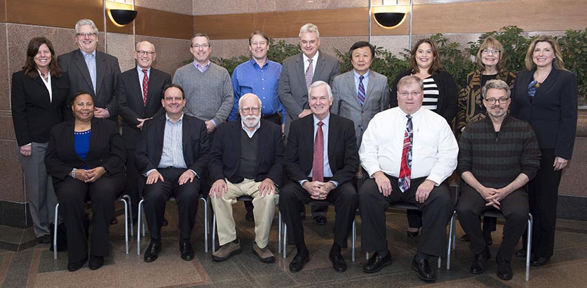 Park Foundation Board, January 2017.