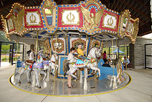 Carousel at Springfield's Lee District Park