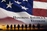 Honoring America's veterans.