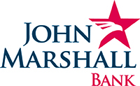 John Marshall Bank logo.