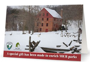 Colvin Run Mill card.
