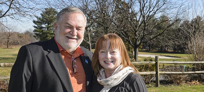 Wayne and Angela Valis.
