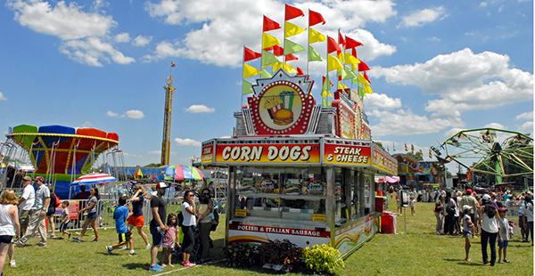 Corn dogs.