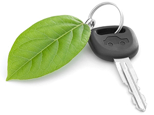 Car key logo.