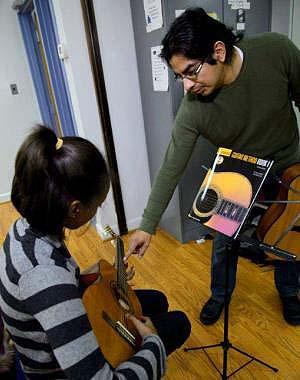Guitar class.