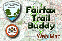 Fairfax Trail Buddy logo.