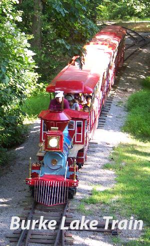 Burke Lake train.