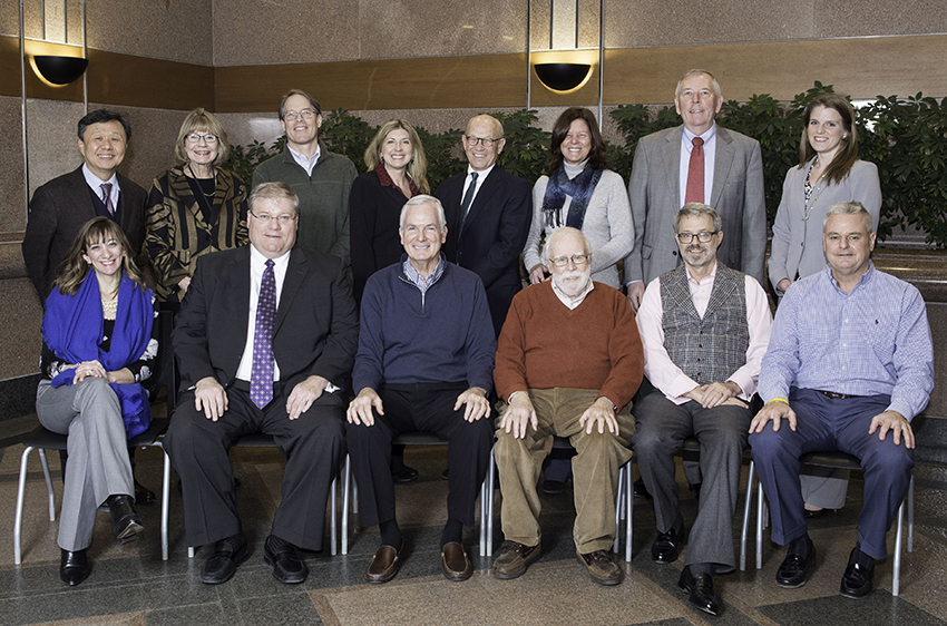 Park Foundation Board, January 2018.