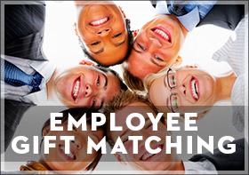 Employee gift matching logo.