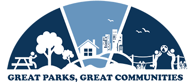 Great Parks, Great Communities logo.
