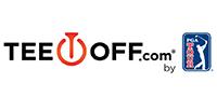 TeeOff logo.