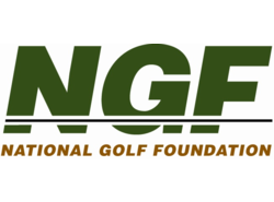 National Golf Foundation logo.