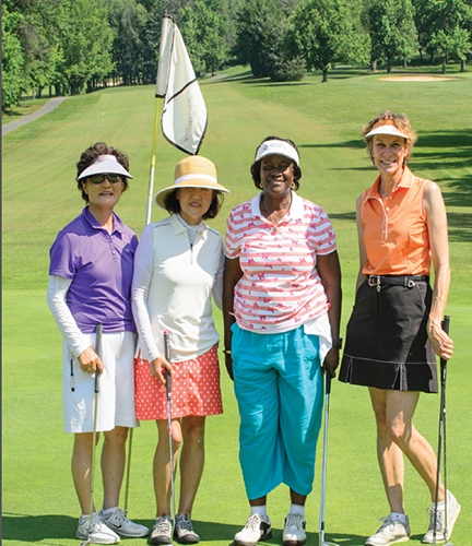 Women and Golf.