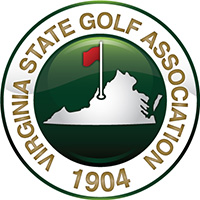 Virginia State Golf Association logo.