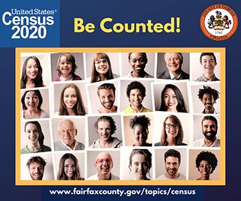 Census 2020 poster.