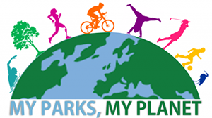 My Parks, My Planet logo.