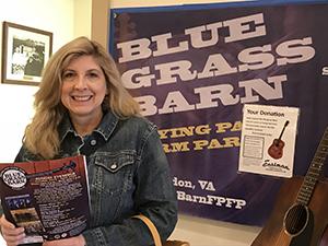 Blue Grass Barn poster.