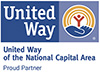 United Way National Capital Area Proud Partner.