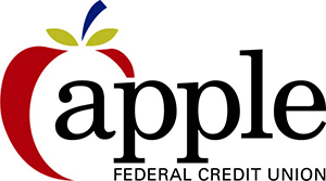Apple Federal Credit Union logo.