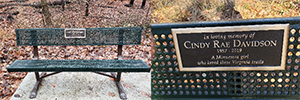 Photo of bench.