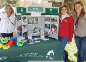 Three members of the Fairfax County Park Foundation.