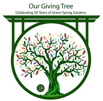 Green Spring Gardens Giving Tree logo.