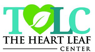 The Heart Leaf Center logo.
